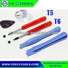 NO668R-6 Opening Tool Kit for BlackBerry,mobile phone repair tool kit for Motorola, Nokia, HTC