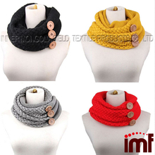Women's Thick Winter Cable Knit Infinity Scarf