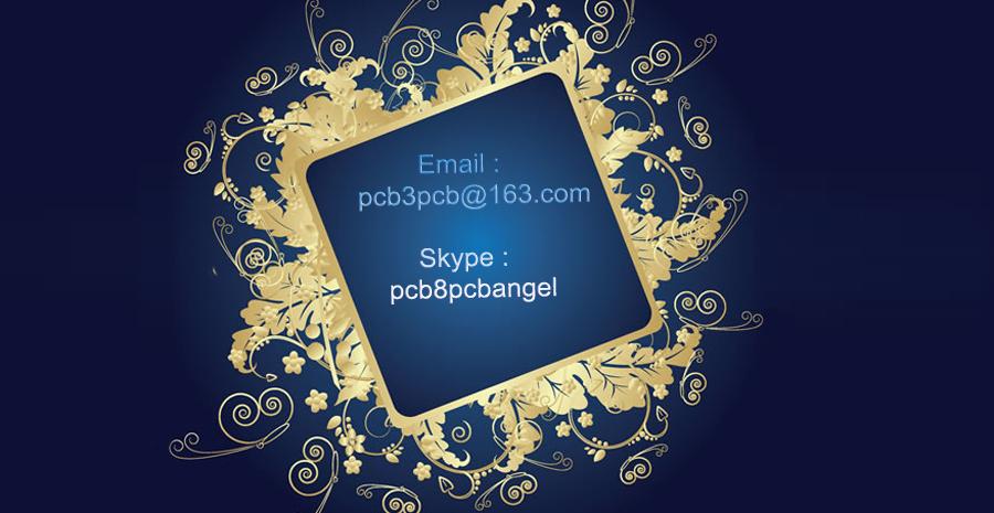 Двусторонняя PCB PCB ENIG BM121