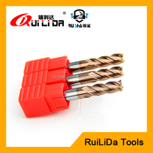 square end mill cutting tools for hard metal