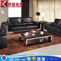 wholesale hot sale used leather sofa