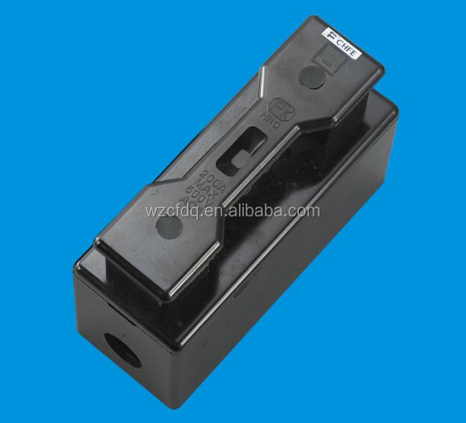 hrc 200a black plastic fuse box fuse cutout buy hrc fuse fuse box rh alibaba com