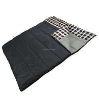 Double 2 Person Giant Sleeping Bag, 80-Inch x 66-Inch personalized toddler sleeping bag
