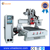 Italy HSD spindle atc cnc router machines price VML1325 wood ATC cnc router price,wood routers carving machine