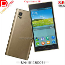 Qual band Dual sims 3.5 inch PDA capacitive TP cell phone with Bluetooth for Indonesia