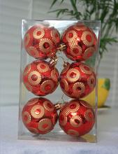 Top quality New Fashion Christmas Ball Ornament