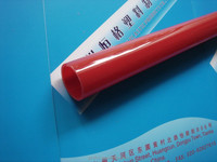 Red PMMA Pipe/ Colored PC tube/Plastic round tube with holes