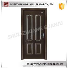 Interior/Exterior Traditional Style Custom Walnut Wood Door Design