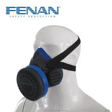 2015 çin üretici benzer 3m gaz maskesi, tek filtre yarım yüz maskeleri