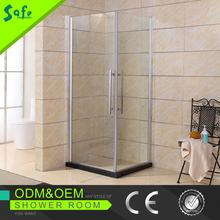 SAFE 2015 new design Square simple bathroom shower enclosure with shower tray