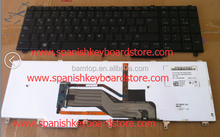 M8F00 KEYBOARD FOR DELL LATITUDE E6520 E5520 M4600 M6600 SPANISH LA BLACK with BACKLIT ORIGINAL teclado MP-10H26LAJ886