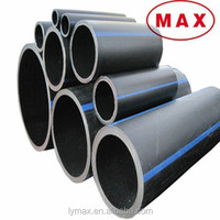 Well Sale SDR 180MM 200MM 225MM Black HDPE Plastic Water Pipe for Irrigation