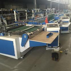 DFR700/1200 Series Hot sealing cold cutting T-shirt bag making machine