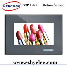 7 inch wall/shelf mounting lcd usb media player work from USB SDcard