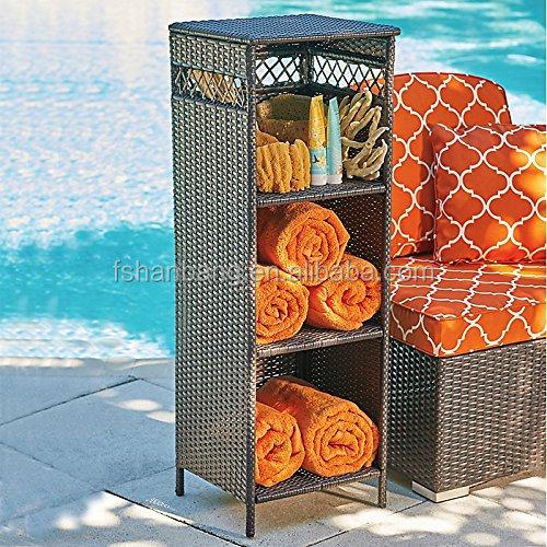 outdoor towel storage cabinet 1