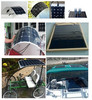 solar panel price for boats, caravans, launch & mobile homes used SN-H100W