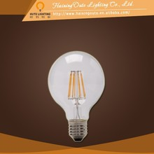 Luxury lamps for decorations manufacturing led filament bulb light