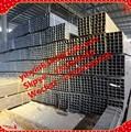 Q195 q235- tamanho grande de ferro hr tubo retangular de aço e tubos de tamanhos