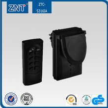 433.92mHz/315mHZ,popular in Euro markret,support ac 210-230V power,universal outdoor use,remote controlled socket,keep home safe