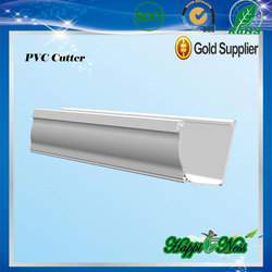 popular selling pvc rain gutter fittings for roofing water collector