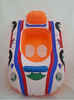 Kids Swimming Seat Float Ring Car Infant Inflatable Aid Trainer For 2-5Y