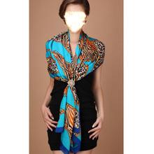 Hot sale high grade 180*70cm different wear way fashion women long beautiful the real 100% silk scarfs