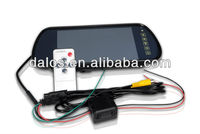 """7"""" Bluetooth Car Monitor with USB SD 7inch Mp5 color TFT LCD Car Reaview Mirror Car Monitor IR Remote Controller"""