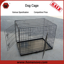 Welded Wire Mesh 63x48x55cm Black Customized Dog Cage For Sale Cheap