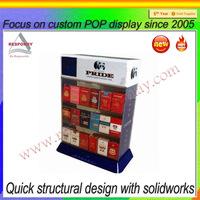 2014 manufacturer store cigarette display cabinet