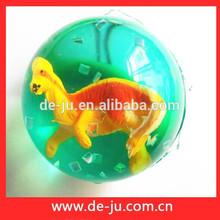 Promoción de la pequeña Dragen dentro de los niños animales pelota rebotando impresas LOGO