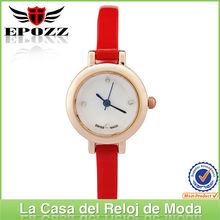 Diseño novedoso para reloj de dama de diversos colores