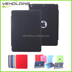 Three fold new arrival tablet cover for ipad air 2 leather case wholesale