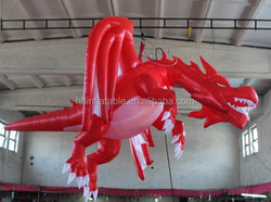 inflatable dragon red,hot popular inflatable giant dragon Type inflatable dragon red