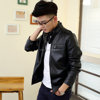 2015 New products hot sale low price mens leather jacket