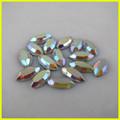 Sehr Qualität glänzenden ab kristall hot-fix flatback strasssteinen für kleider kleid