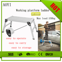 Hot sale fashion life style aluminum oxidation telescopic work bench AY-X001