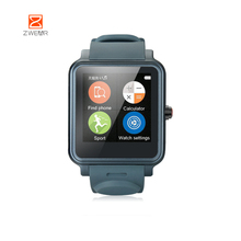 CE ROHS sport watch Phone with GPS/Heart Rate Monitor mobile phone for old age people