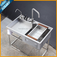 Simple&Fashion handcrafted kitchen stainless sinks