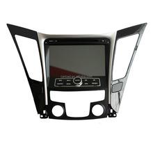 touch screen 8in hyundai sonata car dvd with ipod, gps, bt, usb, Radio, analog tv, steering wheel control