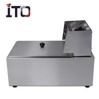 CI-81 Hot Sale Kitchen Equipment Continuous Donut/Potato Prices open fryer