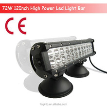 IP68 double row lifetime warranty marine and offroad 72w led light bar
