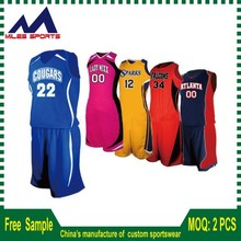custom made all over sublimation printed basketball jerseys