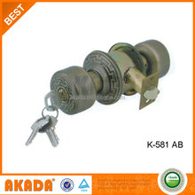 Electric Locks For Automatic Brass Cylinder Lock With Knob
