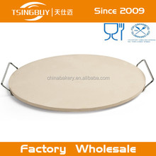 Perfect Customized Cordierite pizza stone oven cleaning cycle with Oven- and microwave -safe