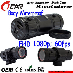 Factory, IP68 Special Body Waterproof Action Cam Full HD 1080P 60fps Mini Size Action Cam