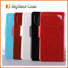 universal wallet leather cover for samsung galaxy ace plus s7500