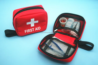 wholesale red coress first aid kit tool box