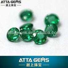 natural emeral corte redondo de piedras preciosas 4mm sapphirea sin calentar sin tratar esmeralda pura