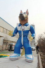 customized new style giant inflatable dog decoration,inflatable cartoon dog