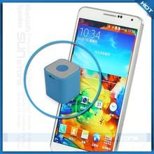 High-end cheap mobile phone mini bluetooth speaker with internal mic mobile phone speaker